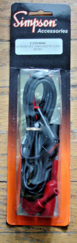 Simpson Meter Leads (NEW OEM SET) for the 260 #00043