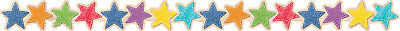 CTP 8383 Rustic Upcycle Style Star Bulletin Board Trimmer Classroom Decorations