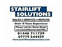 stairlifts bought and sold stair lift stannah brooks rentals removals repairs cardiff south wales