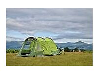 The Abberley XL by OLPRO is a spacious four-berth tent has a large living area plus bedroom