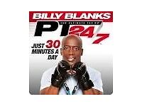 BILLY BLANKS PT24/7 Workout System - New in Box
