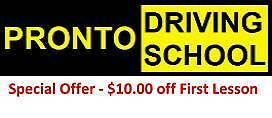 Pronto Driving School - Adelaide Dernancourt Tea Tree Gully Area Preview