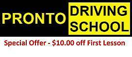 Pronto Driving School - Adelaide