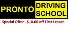 Pronto Driving School - Adelaide Dernancourt Tea Tree Gully Area Preview