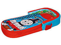 TODDLER'S PORTABLE SLEEPOVER BED. THOMAS THE TANK ENGINE MY FIRST READY BED. NEW, NEVER USED
