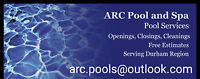 Closing Pool Services Special Durham Clarington Book Now