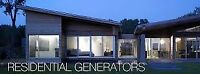 Home Generator Service - Don't be left in the dark this winter!