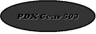 PDX Gear 503