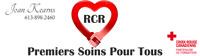 Formation RCR et Premiers soins Allergies severe !!! un bon Prix