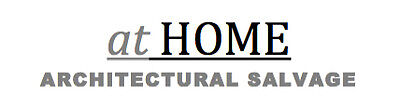 at HOME ARCHITECTURAL SALVAGE
