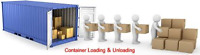 IMMEDIATE CASH - NEED EXTRA HANDS TO UNLOAD CONTAINER