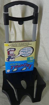 CARRELLO SJ GANG Porta Zaino Scuola Manico Estensibile Carrellino Trolley 15 kg