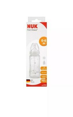 Nuk First Choice Plus Baby Formula Anti-Colic Bottle silicone Teat 300ml 1 Pack