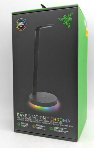 Razer Base Station V2 Chroma USB Hub Headset Stand - RC21-01510100-R3U1 -NR4739