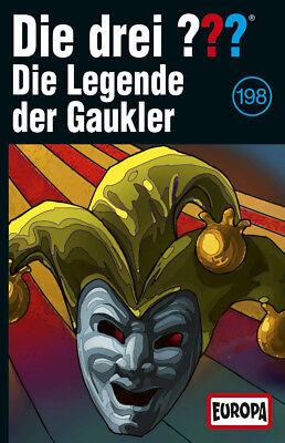 Die drei ??? Fragezeichen - Folge 198: Die Legende der Gaukler (MC) ab 28.06.19