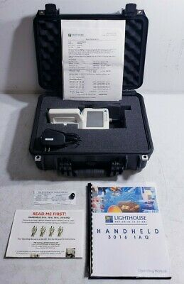 Lighthouse 3016 Handheld Airborne Particle Counter