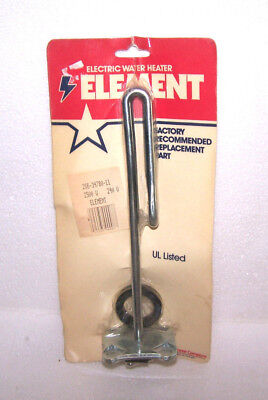 BRADFORD WHITE WATER HEATER ELEMENT 2500W 240V ELECTRIC PART FLANGE 266-34780-11