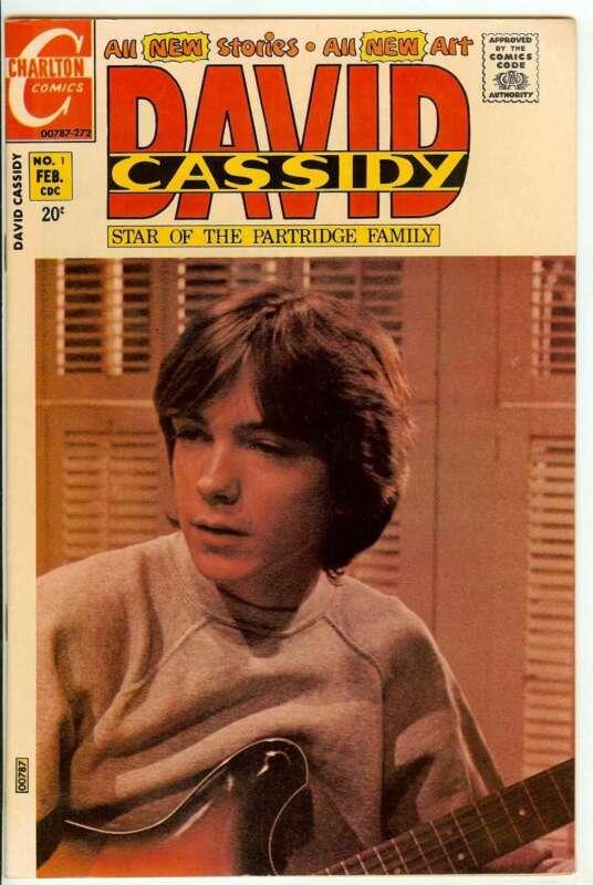 DAVID CASSIDY #1 8.5