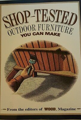 Outdoor Furniture Shop (Shop Tested Outdoor Furniture You Can Make,)