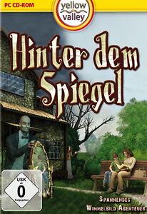 HINTER DEM SPIEGEL  WIMMELBILD-SPIEL   PC CD-ROM