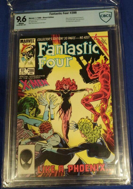 FANTASTIC FOUR # 286 (1986) CBCS 9.6 Return of Jean Grey  1st cameo app X-FACTOR