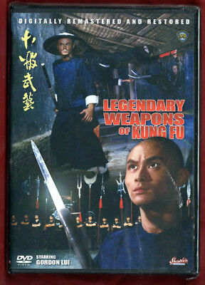 Shaw Brothers LEGENDARY WEAPONS OF KUNG FU (1982) Digitally Remastered DVD NEW