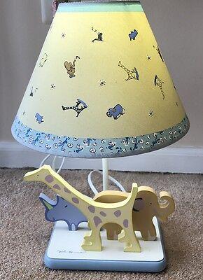 Carters John Lennon REAL LOVE Nursery Baby Table Lamp Shade Animals Zoo Safari (Baby Safari Lamp Shade)
