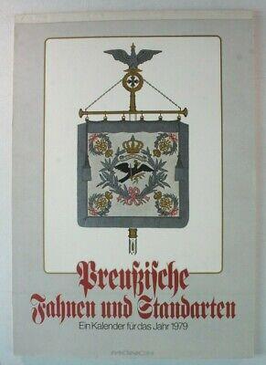 Kalender Preußische Fahnen und Standarten Mönch 1979 Y4-581 (Stand Kalender)