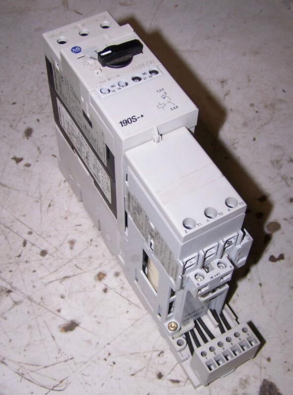 NEW ALLEN BRADLEY COMPACT MOTOR STARTER 24 VDC COIL 10 HP 190S-ENZJ3-FC16C