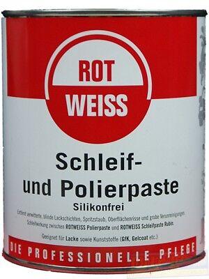 (EUR22,99/L) ROTWEISS  Schleif und Polierpaste 750 ml