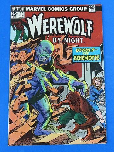 WAREWOLF BY NIGHT #17 BRONZE AGE COMIC BOOK 1974 ~ NM