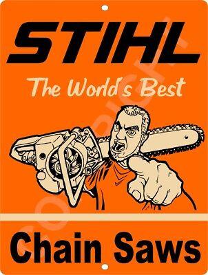 STIHL Worlds Best CHAIN SAW 9
