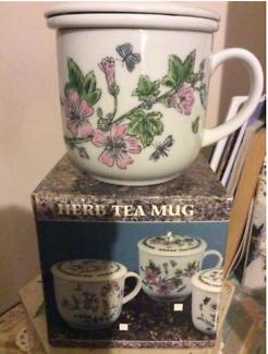 Kitchenware - Glass Dessert Bowls, Tea Mug w Lid, Plastic Cups