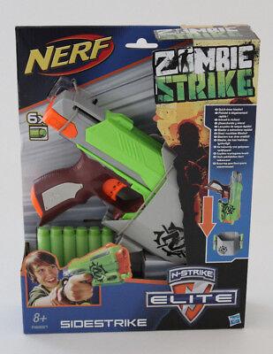 Hasbro NERF Zombie Strike Sidestrike mit Holster und 6 Darts