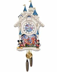 ULTIMATE DISNEY CUCKOO WALL CLOCK by Bradford Exchange
