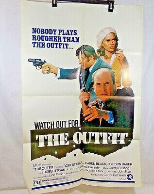 Vintage Movie Poster from the 1970's Watch Out For The Outfit