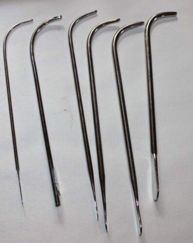 Old Sklar Haslam Aloe Medical Urethral Surgical Urology Serious Sounding Rods