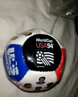 New World Cup USA 1994 Fotoball US Soccer Team Roster with Photos Pictures Mini