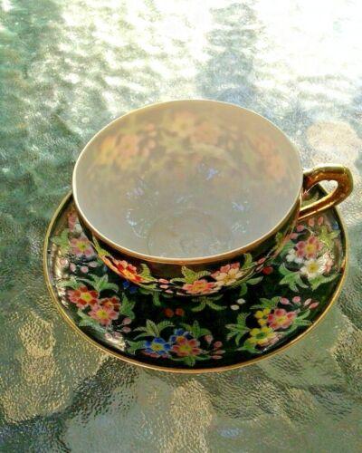Empress Teacup Antique Japanese bone china porcelain teacup with saucer