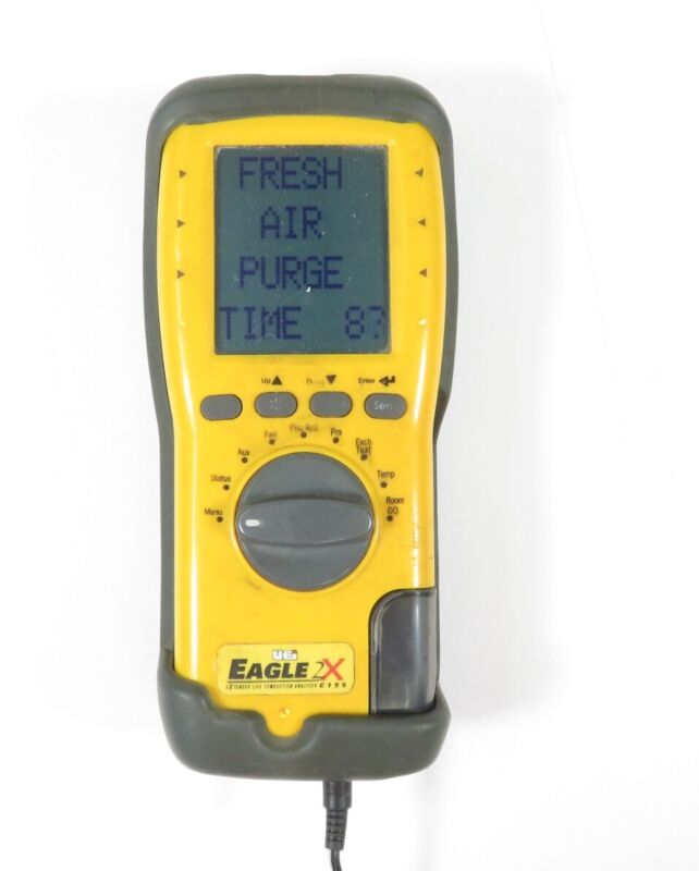 UEi Eagle 2X C155 Handheld Xtended Life Combustion & System Analyzer - Yellow