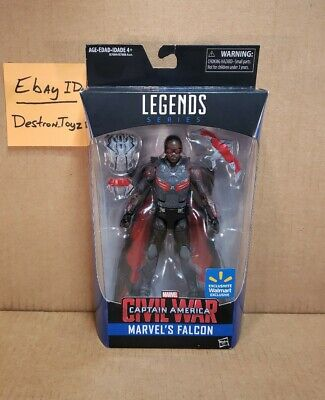 Hasbro Marvel Legends - FALCON - Walmart Exclusive Civil War NEW SEALED USA