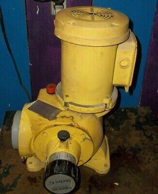Milton Roy G5 G51p542pm 26gph 150psi Metering Pump 34hp 14
