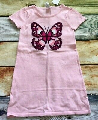 Party City Winter Springs (Gymboree 6 8 10 12 Tails of the City Pink Butterfly Sweater Dress)