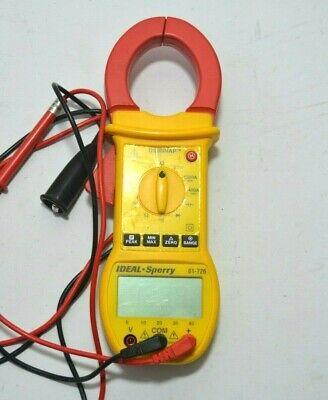 Ideal Sperry 61-726 Digi Snap Digital Clamp Multimeter