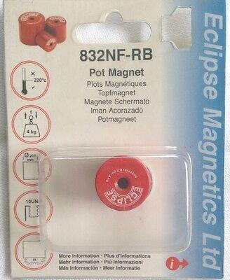 Alnico E-832 Pot Magnets 9 Holding Capacity