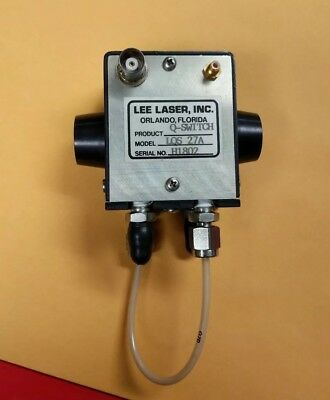 Lee Laser Q-switch Model Lqs-27a Liquid Cooled Made In Usa