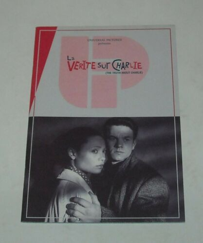 The TRUTH ABOUT CHARLIE FRENCH PROMO MOVIE PRESSBOOK MARK WAHLBERG TIM ROBBINS