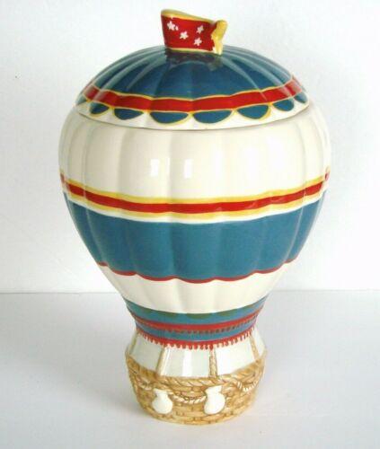 "Disney Wizard of Oz Hot Air Balloon Davids Cookies Cookie Jar 12"""