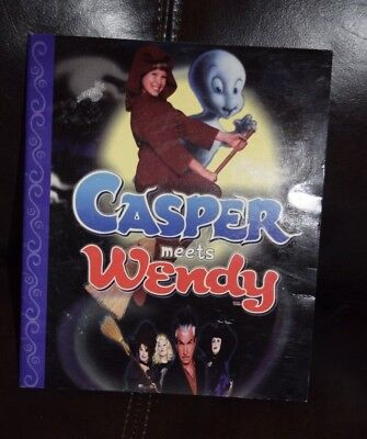 Casper Meets Wendy Story book Paperback (The Friendly Ghost) Halloween Reading