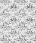 Toile Blue Wallpaper Wallpapers